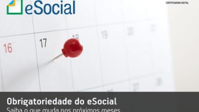 Photo of Obrigatoriedade do eSocial: saiba o que muda nos próximos meses