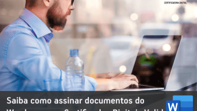 Photo of Como assinar doc do Word com Certificados Digitais Valid