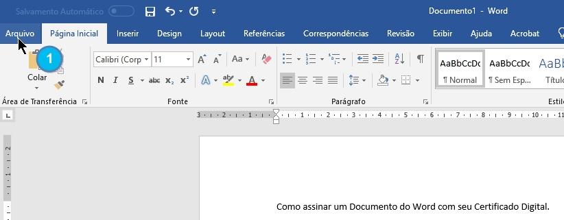 Como assinar um doc com seu e-cpf - imagem 1