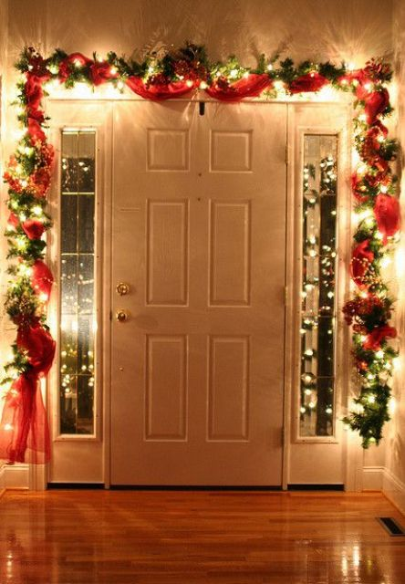 Lighted Garland - Decorating With Christmas Lights Indoors Valor Fireplaces & Lifestyle