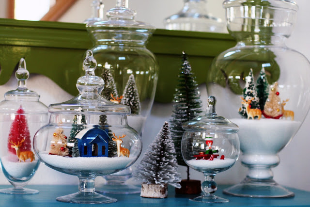 Decorating For Christmas With Apothecary Jars | Valor Fireplaces ...