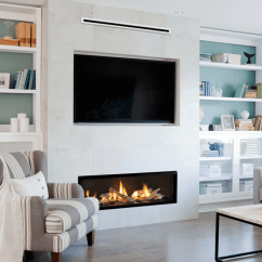 Design Living Room With Fireplace And Tv Large Layout 3 Ways To Display Your Valor Fireplaces Lifestyle Wall Mounted One Of The Most Common That You Will See Televisions Displayed In Homes Is Usually As A Centerpiece