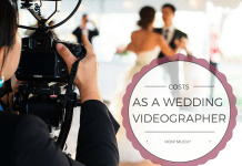How Much Should I Charge As A Wedding Videographer
