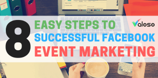 successful Facebook event marketing Valoso