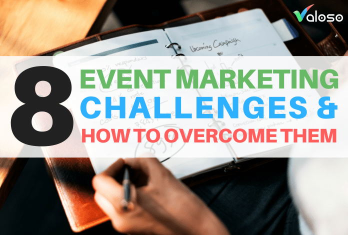 event marketing challenges valoso
