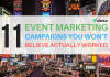 event marketing campaigns