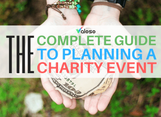 planning a charity event