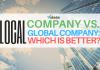 local company vs global company