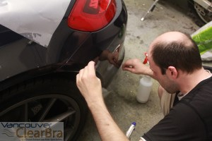 Clear Bra Clear Car Bra 3M Clear Bra Porsche Paint Protection Film  Installation Vancouver