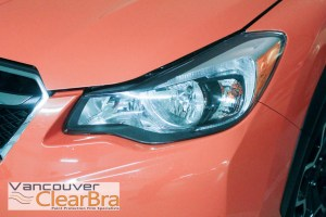 Subaru Vancouver Clear Bra Xpel 3M paint protection film clear bra installation Vancouver