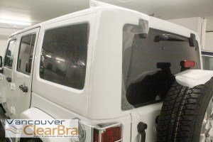 Jeep Wrangler Xpel ULTIMATE Clear Bra