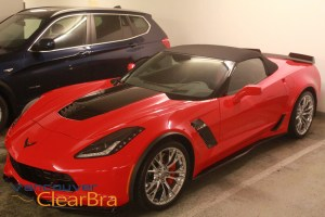 Corvette-Z06-3lz-red-Xpel-Ultimate-Clear-Bra-Paint-Protection-Film-installation-Vancouver-ClearBra-322