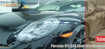 Porsche 911 GTS Clear Bra Removal Vancouver ClearBra