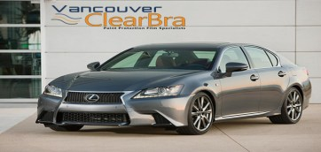 Lexus GS350 Paint Protection Film Vancouver ClearBra
