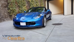 Corvette-z06-blue-roadster-Xpel-ULTIMATE-Clear-Bra-Paint-Protection-Film-installation-Vancouver-ClearBra-3M-3