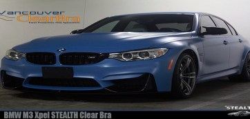 BMW M3 Xpel STEALTH Clear Bra