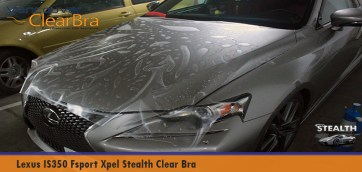 Lexus IS350 Fsport Xpel Stealth Matte Clear Bra