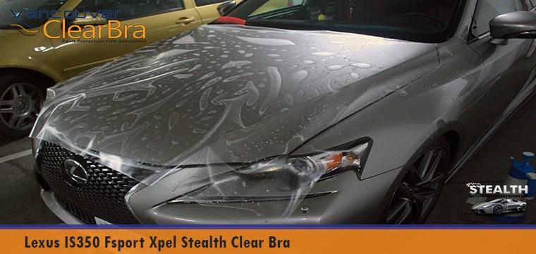 Lexus IS350 Fsport Xpel Stealth Matte Clear Bra