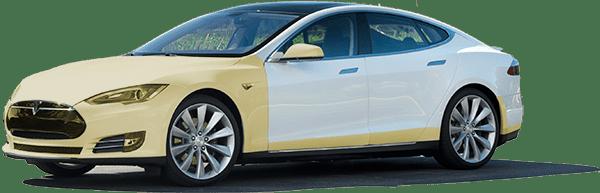 Tesla Model 70D Xpel Ultimate Clear Bra Vancouver