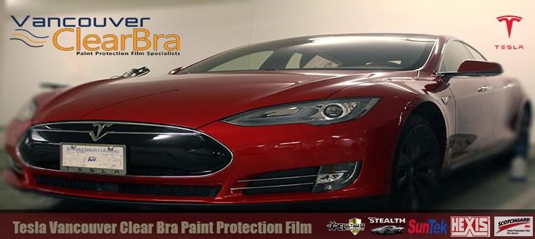 Tesla Vancouver Clear Bra Xpel SunTek 3M Hexis