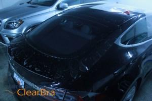 Model S Tesla Carrera S Clear Bra