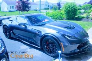Moncton Clear Bra Corvette Z06 Xpel 3M