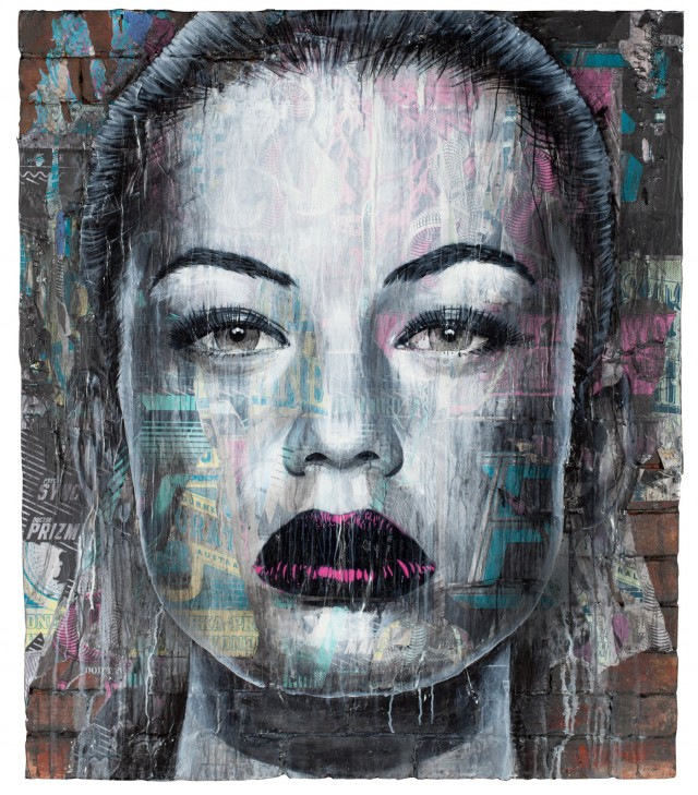 Rone  Fall From Grace at Backwoods Gallery  Vandalog  A Street Art Blog