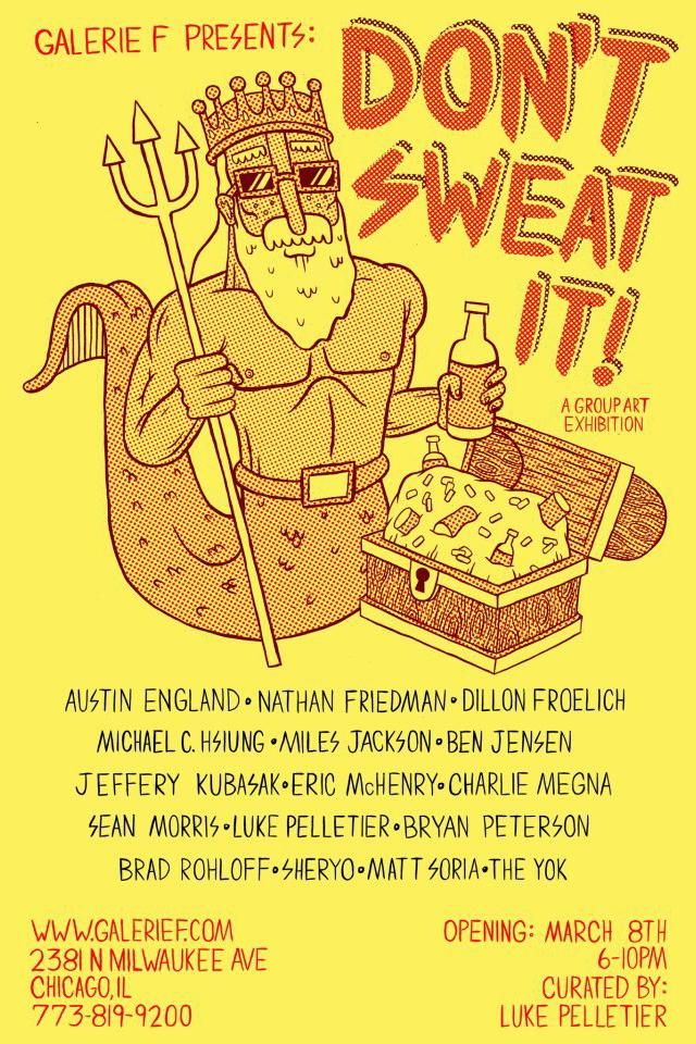 "Galerie F says ""Don't Sweat It"" – Vandalog – A Street Art Blog"
