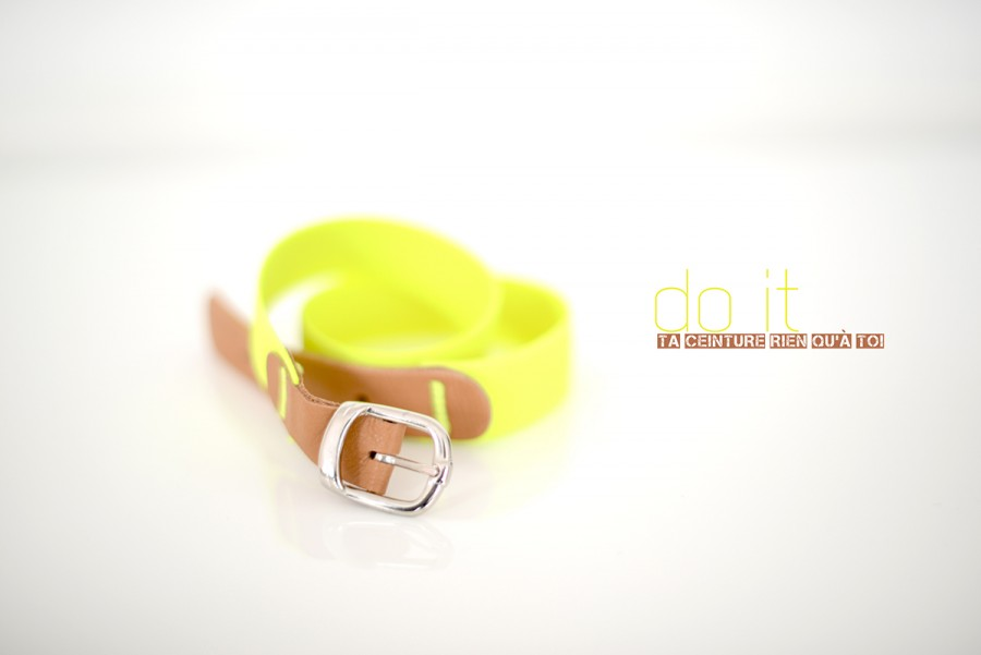 DIY ceinture