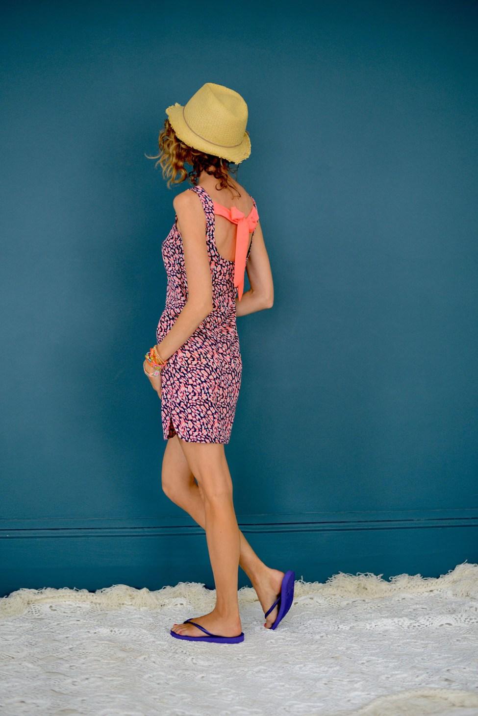 patron robe femme plage