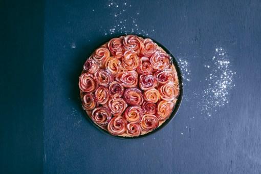 tarte-bouquet-pomme-rose-4