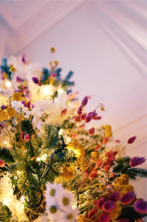 Sapin Bohème en fleurs