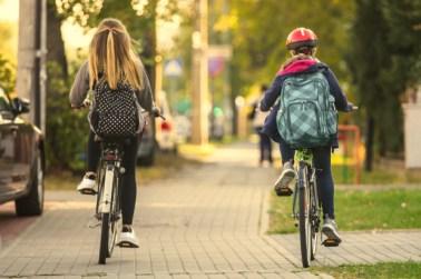 Betere punten voor fietsende schoolkinderen