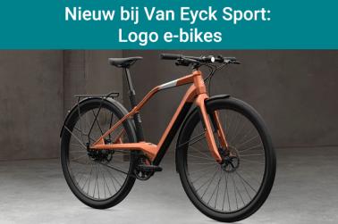 Nieuw bij Van Eyck Sport: Logo e-bikes