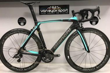 Nieuw bij Van Eyck Sport: Bianchi-fietsen (modeljaar 2019)