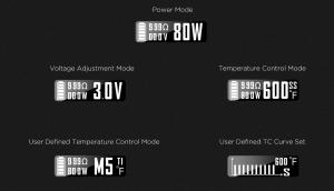 VandyVape PULSE BF 80W Box Modパワーモード