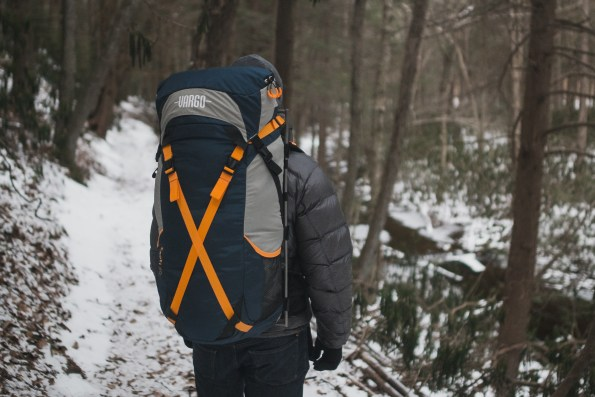 Vargo ExoTi™ 50 on the trail