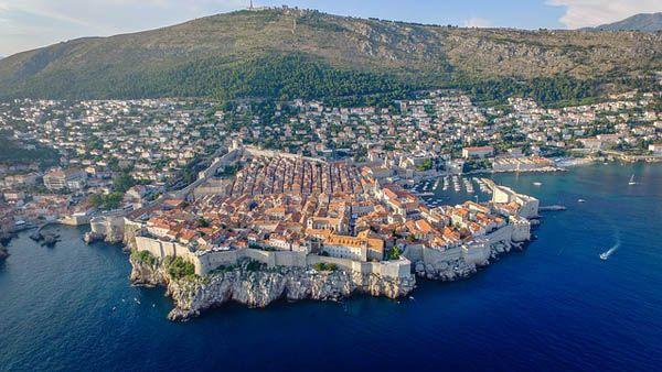 Ciudad de Dubrovnik Croacia