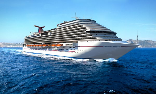 Crucero Carnival Breeze