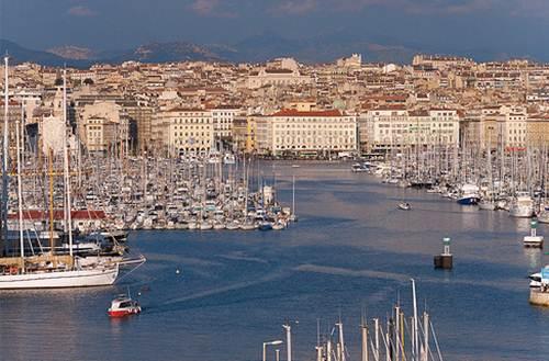 Postal de Marsella