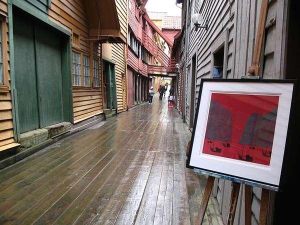 Casas de madera en Bergen