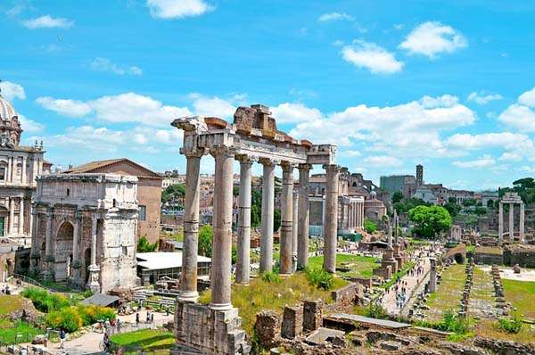 Foro romano en Roma