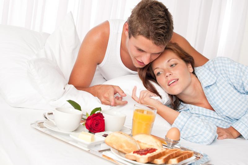 Desayuno pareja