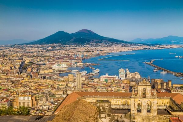 Vistas de Nápoles