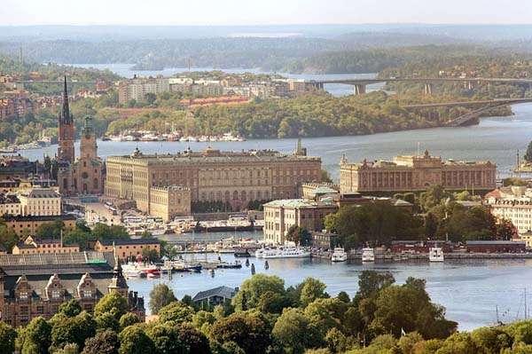 Vistas de Estocolmo