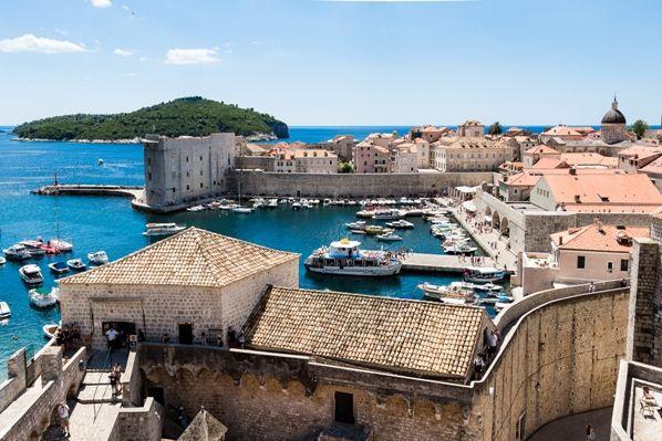 Casco antiguo de Dubrovnik - juego de Tronos