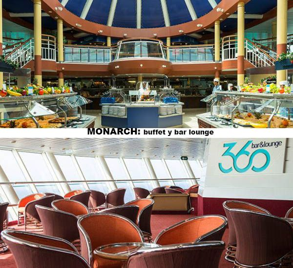 Monarch - buffet y lounge bar