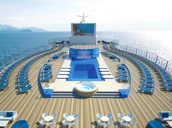 MSC Seaview cubierta