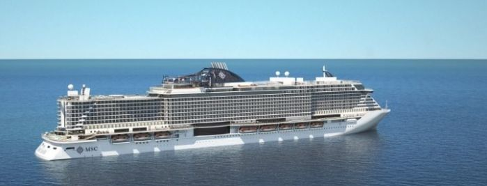 MSC Seaview exterior