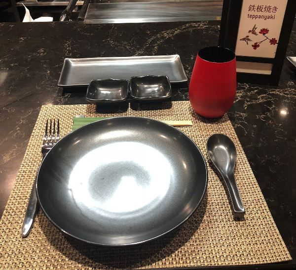 Teppanyaki en el Bliss